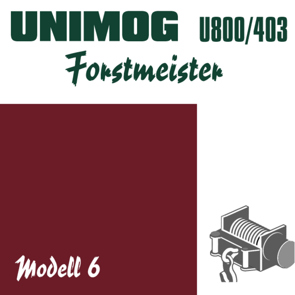 WIKING-Laden - Unimog - Forstmeister