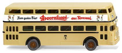 "WIKING - Doppeldeckerbus D2U (Büssing) ""Doornkaat"""
